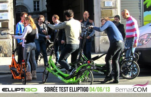 Elliptigo en test