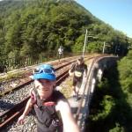 sur le chemin de fer de la Mure