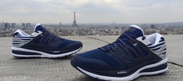 saucony triumph iso 2 everun Edition Spéciale marathon de Paris