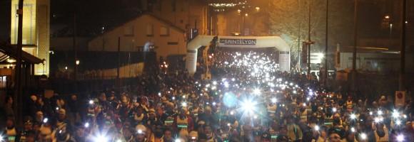 saintelyon 2012 depart