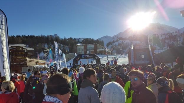Départ Yéti Race La Plagne 2015